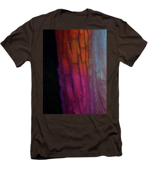 Men's T-Shirt (Slim Fit) featuring the digital art Enter by Richard Laeton