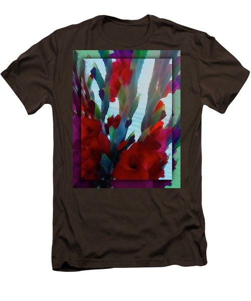 Men's T-Shirt (Slim Fit) featuring the digital art Glad by Richard Laeton