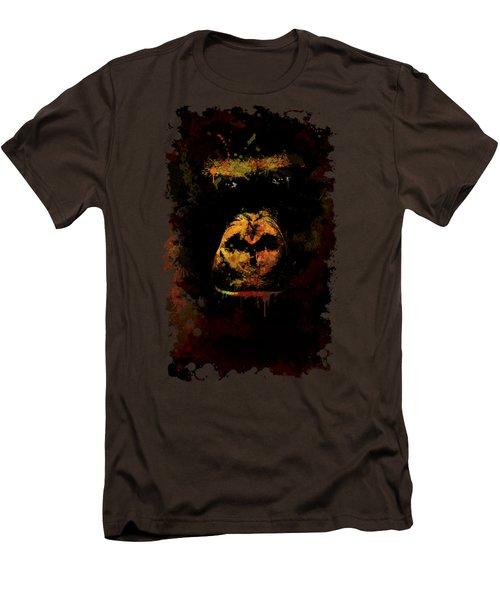 Mighty Gorilla Men's T-Shirt (Slim Fit) by Jaroslaw Blaminsky