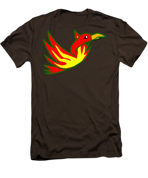 Phoenix Men's T-Shirt (Slim Fit) by Frederick Holiday