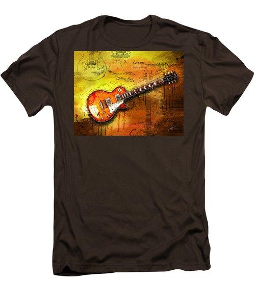 55 Sunburst Men's T-Shirt (Slim Fit) by Gary Bodnar
