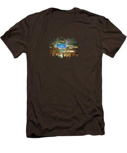 Beach Treasures Men's T-Shirt (Slim Fit) by Thom Zehrfeld