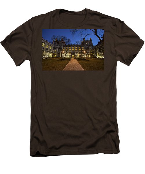 Blue Hour Harper Men's T-Shirt (Slim Fit) by CJ Schmit