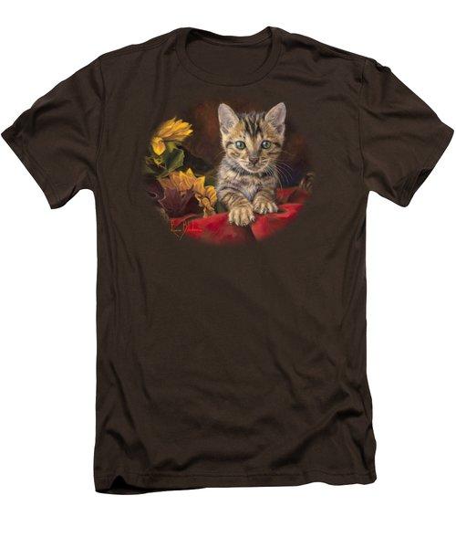 Darling Men's T-Shirt (Slim Fit) by Lucie Bilodeau