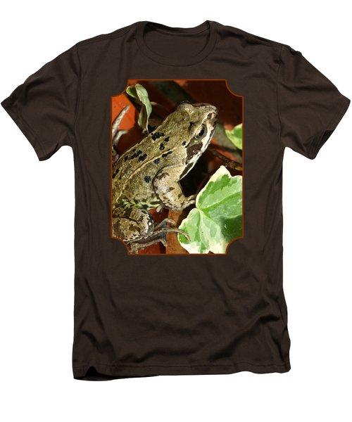 En Route To The Pond Men's T-Shirt (Slim Fit) by Gill Billington