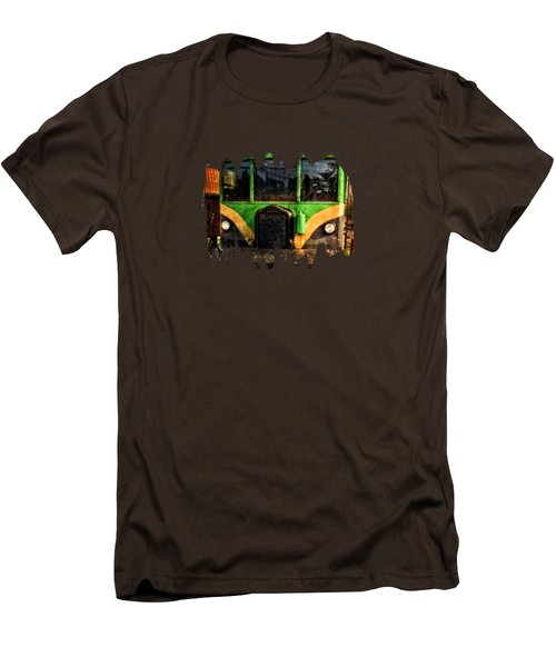 Galloping Goose Men's T-Shirt (Slim Fit) by Thom Zehrfeld