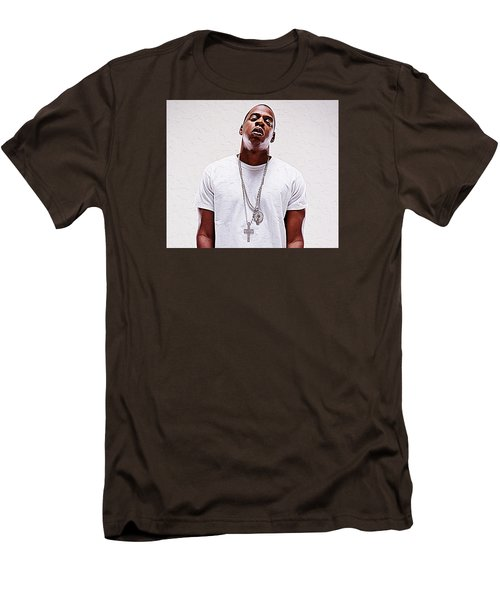 Jay-z Men's T-Shirt (Slim Fit) by Iguanna Espinosa