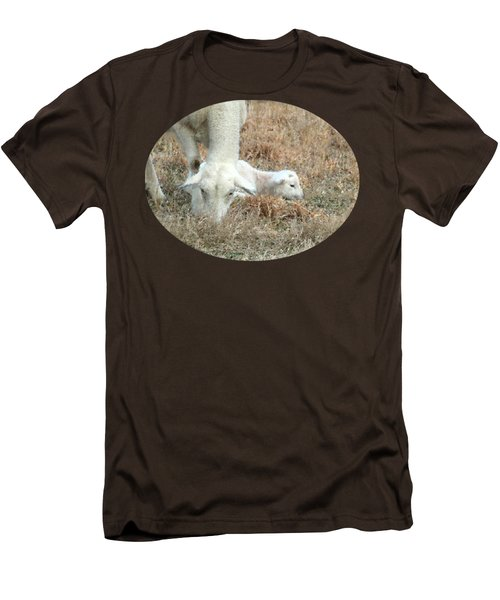 L Is For Lamb Men's T-Shirt (Slim Fit) by Anita Faye