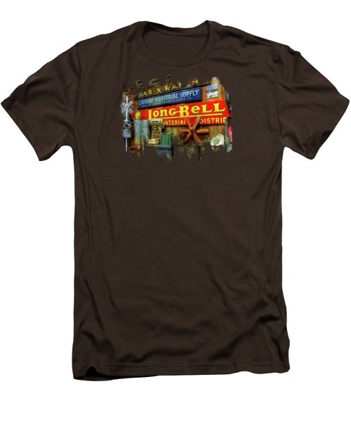 Long Bell  Men's T-Shirt (Slim Fit) by Thom Zehrfeld