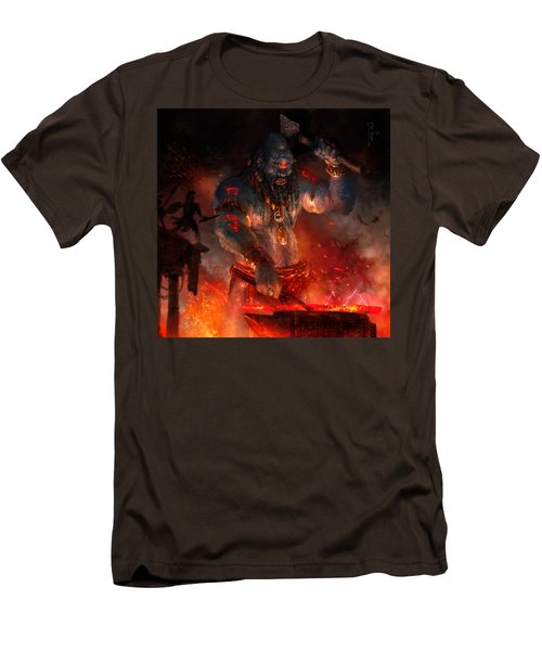 Maker Of The World Men's T-Shirt (Slim Fit) by Ryan Barger