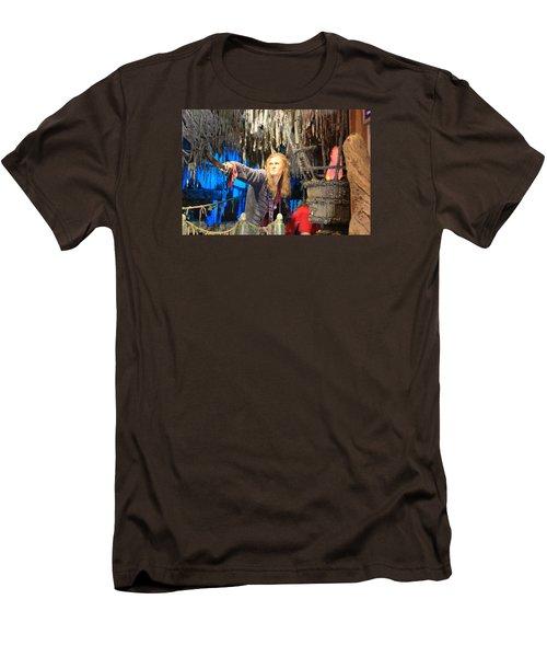 Orlando Bloom Men's T-Shirt (Slim Fit) by Qingrui Zhang