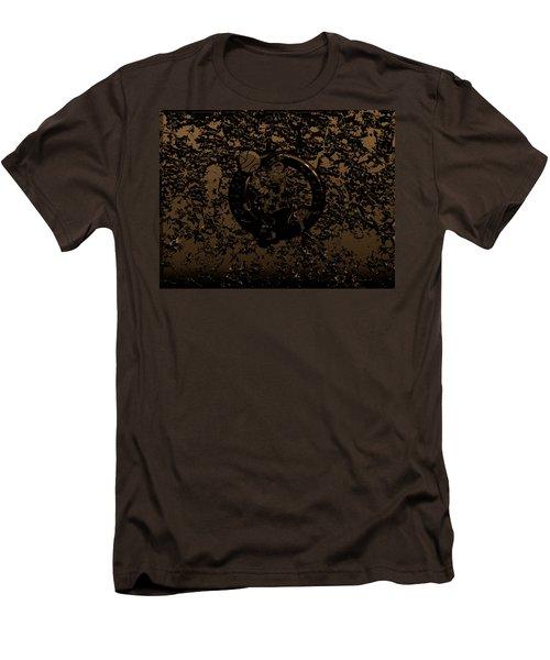 The Boston Celtics 1f Men's T-Shirt (Slim Fit) by Brian Reaves