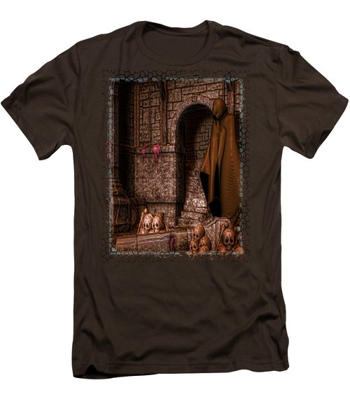 The Dark Men's T-Shirt (Slim Fit) by Sharon and Renee Lozen