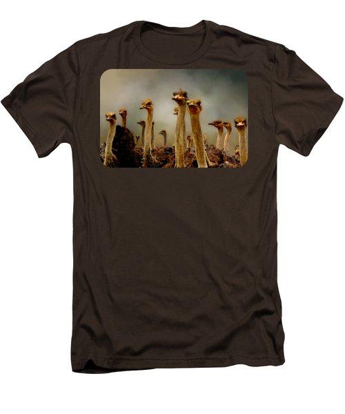 The Savannah Gang Men's T-Shirt (Slim Fit) by Linda Koelbel