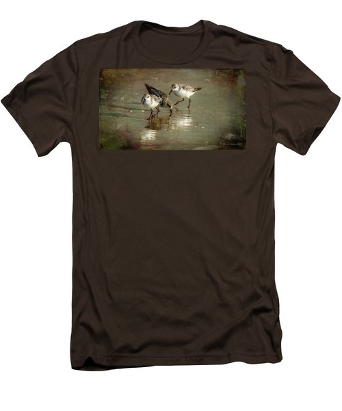 Three Together Men's T-Shirt (Slim Fit) by Marvin Spates