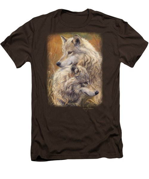 Together Men's T-Shirt (Slim Fit) by Lucie Bilodeau