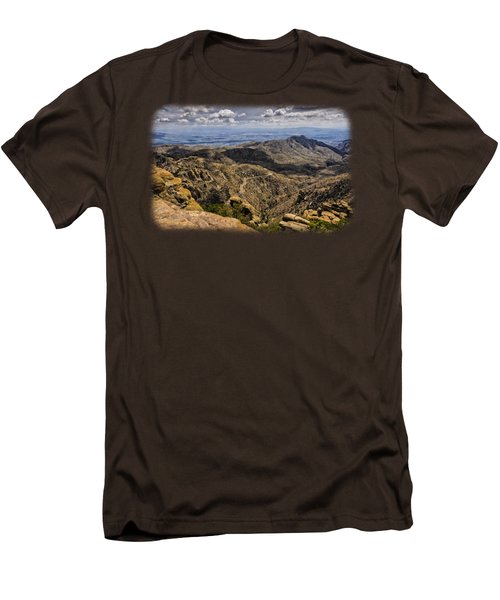 Windy Point No.1 Men's T-Shirt (Slim Fit) by Mark Myhaver