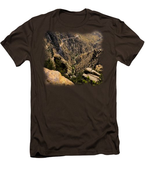 Windy Point No.9 Men's T-Shirt (Slim Fit) by Mark Myhaver