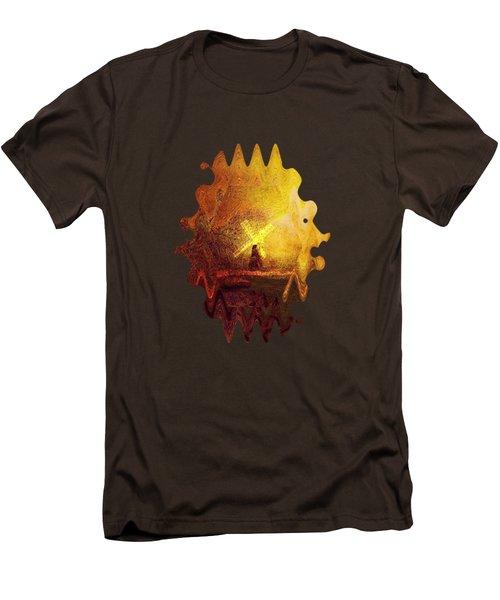 Ye Olde Mill Men's T-Shirt (Slim Fit) by Valerie Anne Kelly