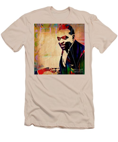 Count Basie Collection Men's T-Shirt (Slim Fit) by Marvin Blaine