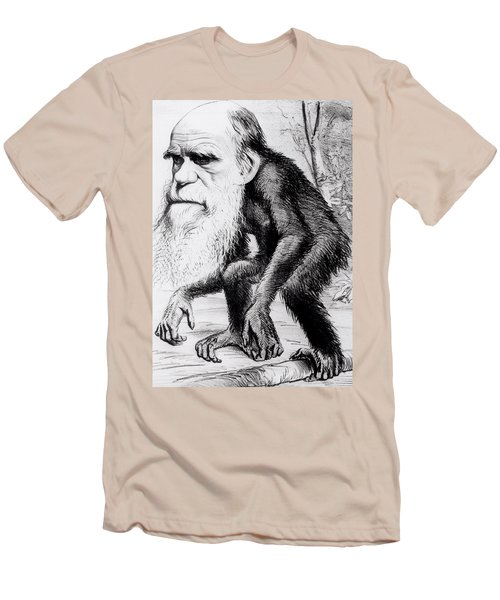 A Venerable Orang Outang Men's T-Shirt (Slim Fit) by English School