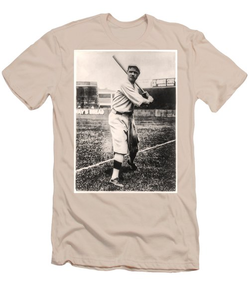 Babe Ruth Men's T-Shirt (Slim Fit) by Bill Cannon