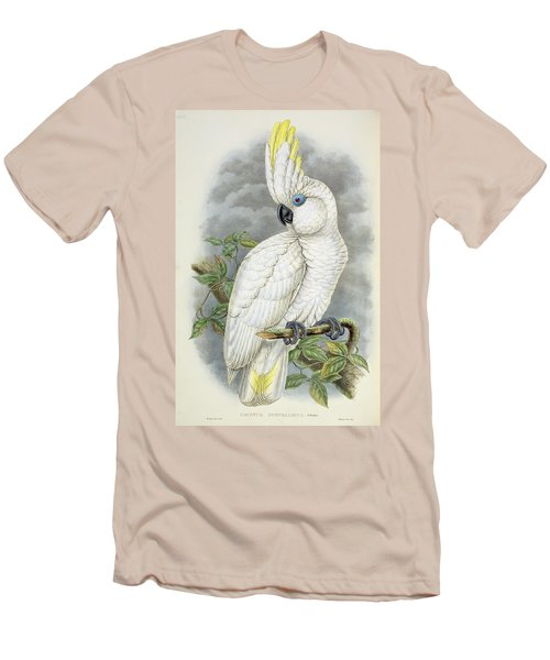 Blue-eyed Cockatoo Men's T-Shirt (Slim Fit) by William Hart