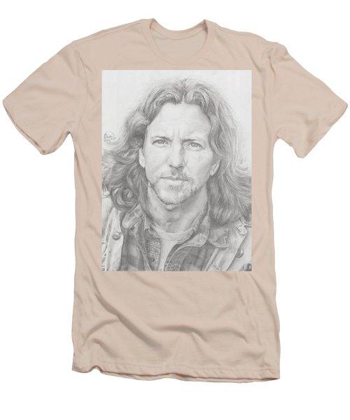 Eddie Vedder Men's T-Shirt (Slim Fit) by Olivia Schiermeyer