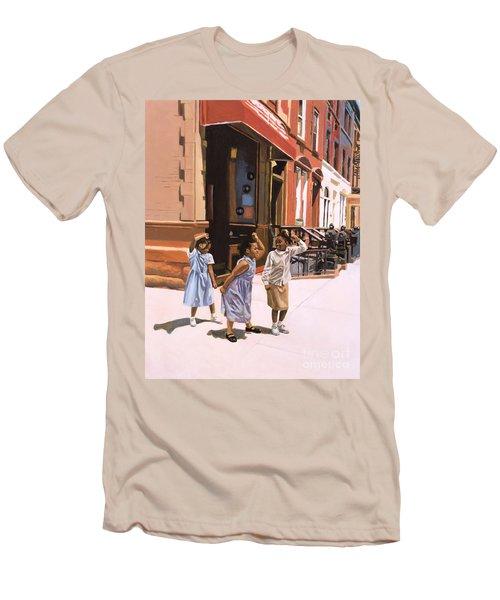 Harlem Jig Men's T-Shirt (Slim Fit) by Colin Bootman