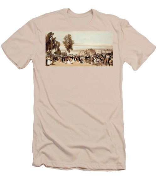 Hyde Park, Towards The Grosvenor Gate Men's T-Shirt (Slim Fit) by Thomas Shotter Boys