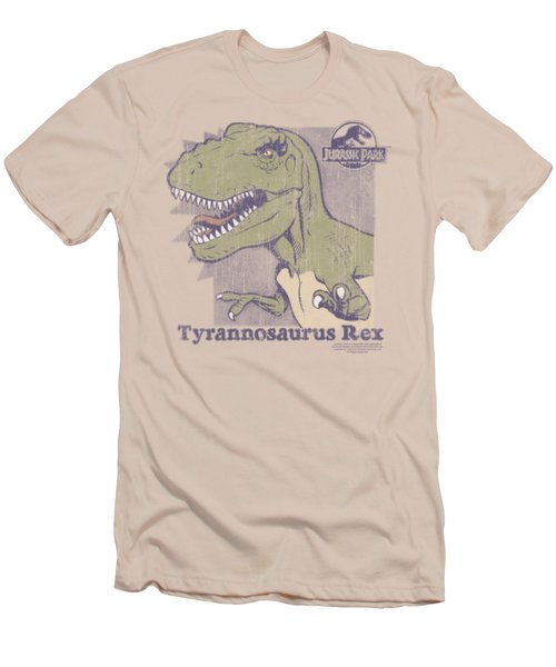 Jurassic Park - Retro Rex Men's T-Shirt (Slim Fit) by Brand A
