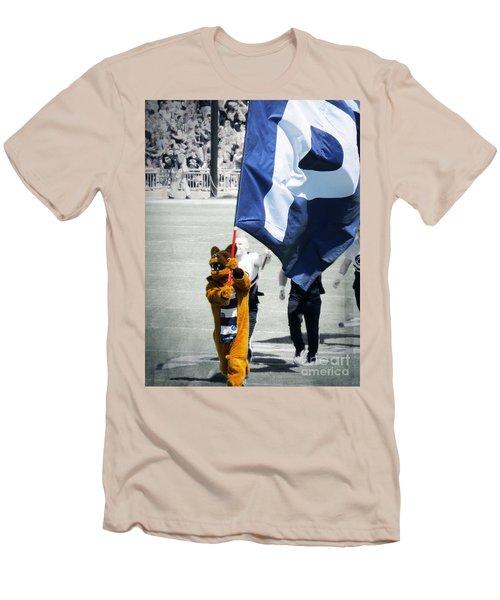 Lion Leading The Team Men's T-Shirt (Slim Fit) by Dawn Gari