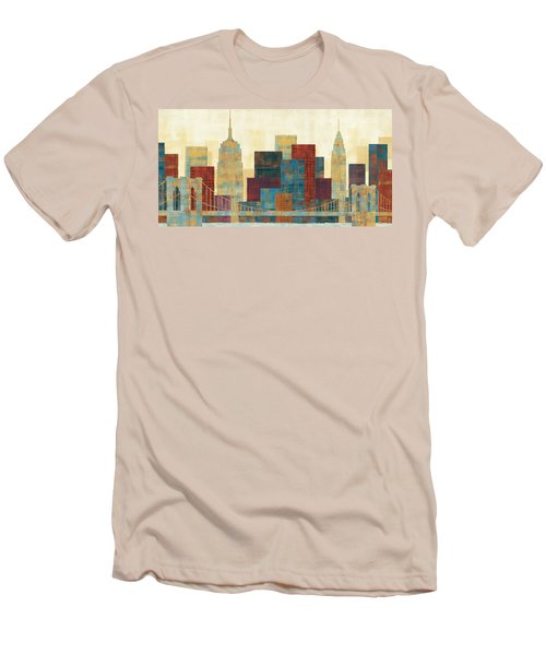 Majestic City Men's T-Shirt (Slim Fit) by Michael Mullan