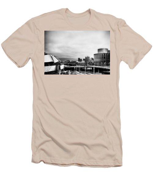 Minneapolis From The University Of Minnesota Men's T-Shirt (Slim Fit) by Tom Gort
