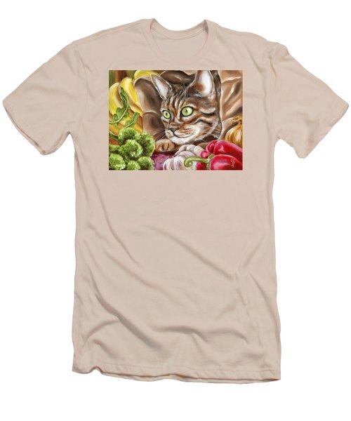 Ok Now What Men's T-Shirt (Slim Fit) by Hiroko Sakai