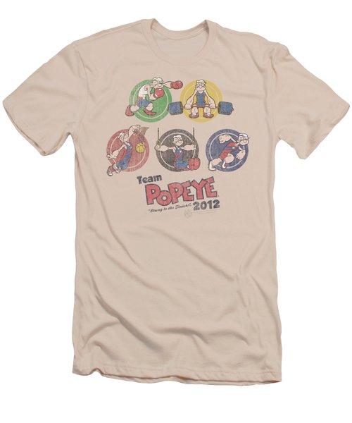 Popeye - Team Popeye Men's T-Shirt (Slim Fit) by Brand A