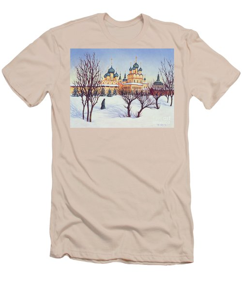 Russian Winter Men's T-Shirt (Slim Fit) by Tilly Willis