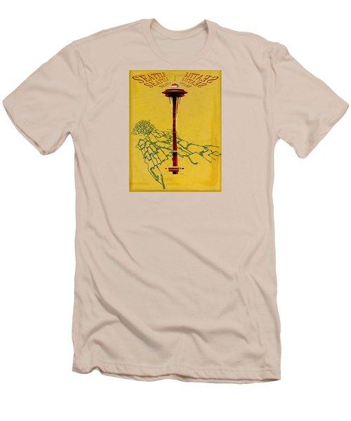 Seattle Calling Men's T-Shirt (Slim Fit) by Sandstone Inc
