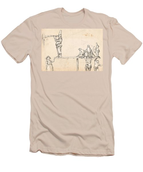 The Captain Men's T-Shirt (Slim Fit) by H James Hoff