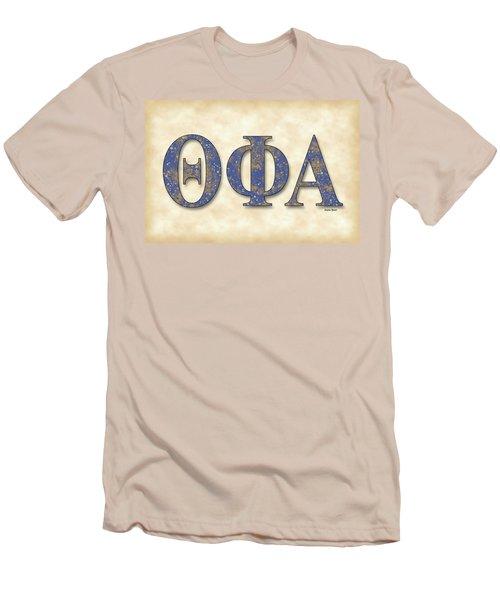 Theta Phi Alpha - Parchment Men's T-Shirt (Slim Fit) by Stephen Younts