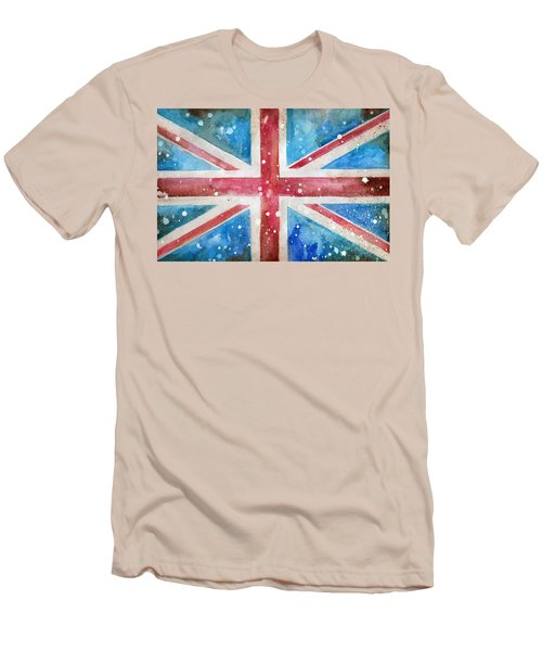 Union Jack Men's T-Shirt (Slim Fit) by Sean Parnell