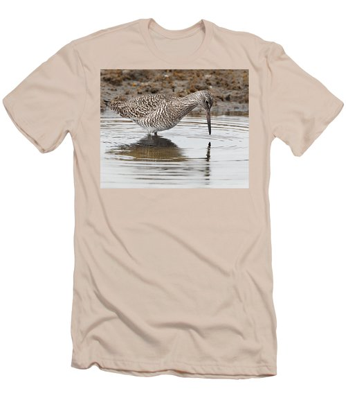 Willet Men's T-Shirt (Slim Fit) by Bill Wakeley