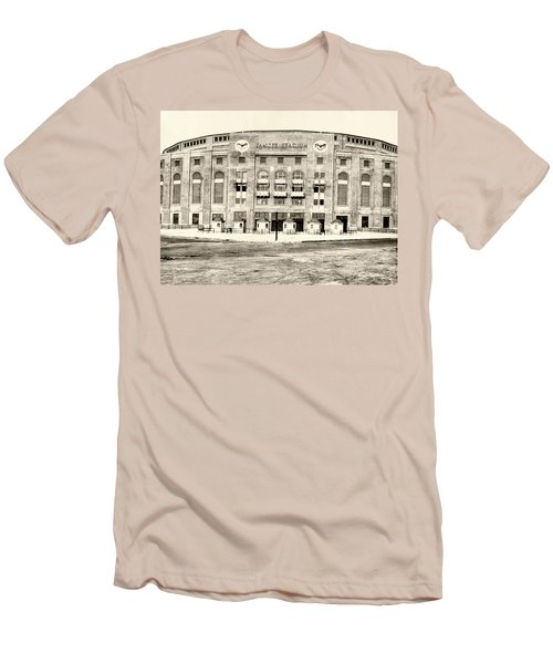 Yankee Stadium Men's T-Shirt (Slim Fit) by Bill Cannon