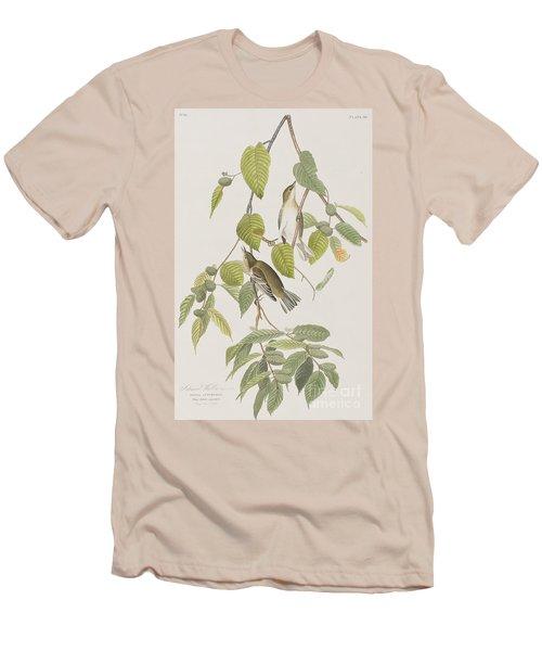 Autumnal Warbler Men's T-Shirt (Slim Fit) by John James Audubon