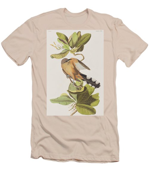 Mangrove Cuckoo Men's T-Shirt (Slim Fit) by John James Audubon