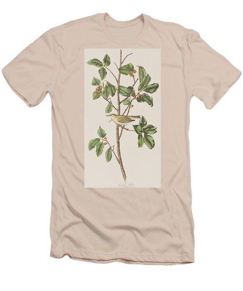 Tennessee Warbler Men's T-Shirt (Slim Fit) by John James Audubon