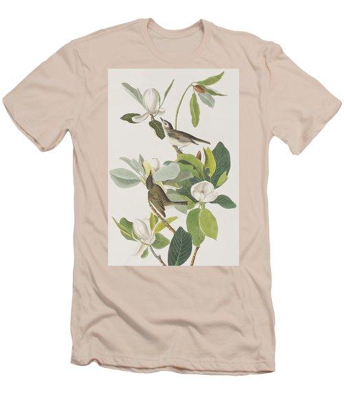 Warbling Flycatcher Men's T-Shirt (Slim Fit) by John James Audubon