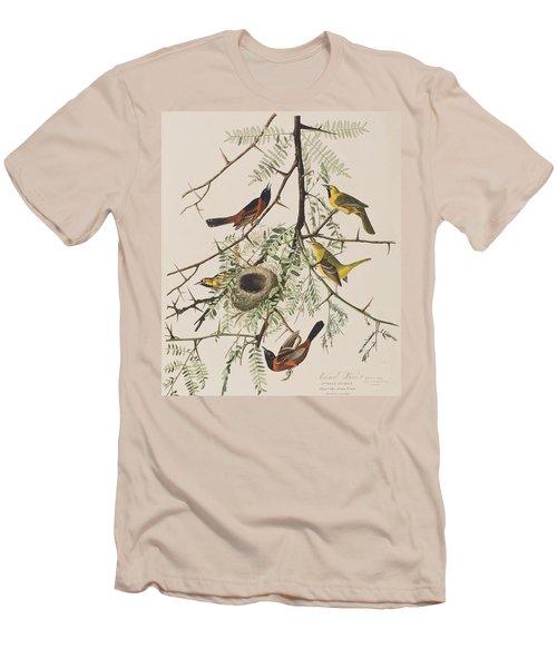 Orchard Oriole Men's T-Shirt (Slim Fit) by John James Audubon