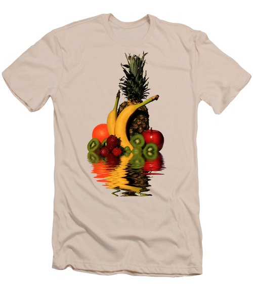 Fruity Reflections - Light Men's T-Shirt (Slim Fit) by Shane Bechler