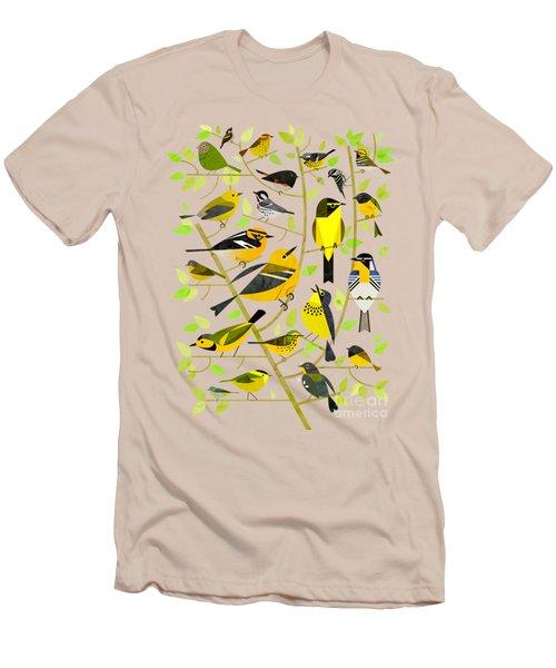 Warblers 1 Men's T-Shirt (Slim Fit) by Scott Partridge